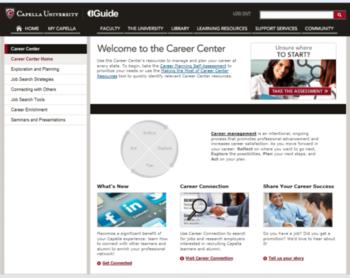 Capella Career Center